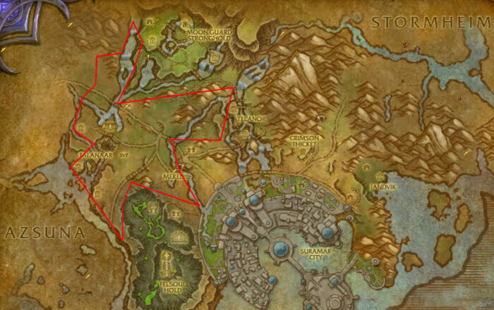 Felslate Farming Guide Routes Epic Wow Guides